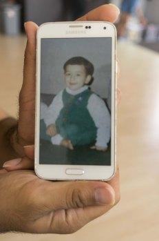 Ahmad J. S., da casa (Me, once)
