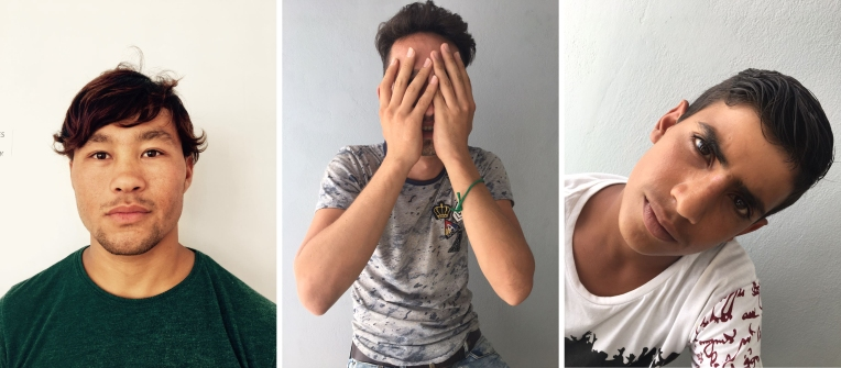 Rahman, Mohammed, Reza, Portraits, Samos, 2017